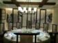 厂家直销老榆木家具大圆桌现代简约餐桌明式官帽椅素食禅意餐厅