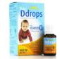 加拿大Ddrop婴幼儿童纯天然补钙维生素D3滴剂90滴